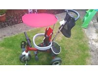 Toddler trike fantastic condition . Can be used from 10months old up to 3-4 years old .