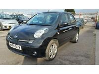 2009 nissan micra 1.2 petrol 5 door hatchback 12 months mot genuine low mileage