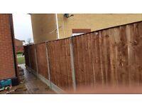 20 new taf closeboard fence panels