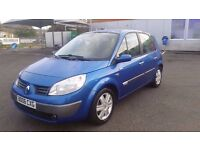 RENAULT SCENIC 1.6 AUTOMATIC IN CLEAN CONDITION. MOT OCTOBER 2017. FULL SERVICE HISTORY. 2 KEYS