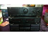 Kenwood Seperates including Audio Amp, Tape & Equalizer