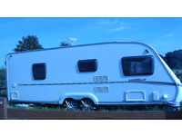 ABBEY VOGUE 2 620 TWIN AXLE WITH MOTOR MOVER 2009 MAY PX FOR A MOTORHOME + CASH