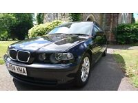 BMW 3 SERIES 1.8 316i ES Compact 3dr in Black M-0-T-17-05-2017