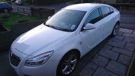 Vauxhall isignia white 2.0 turbo diesel