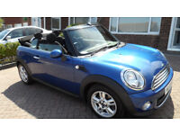 MINI CONVERTIBLE 1.6 LOW MILEAGE