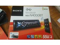 Mex N4000BT Sony Bluetooth Head unit