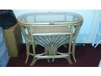 compact small table and 2 chairs
