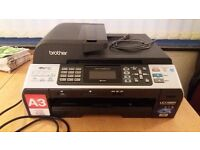 brother printer, scanner and fax machine with ink