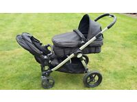 Baby Jogger City Select Double Pushchair System - Onyx
