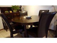 Dining table & chairs, Sideboard, Sofa, Coffee table, Desk/Cabinet, Bathroom cabinet & Fridge