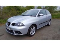 L@@K Seat Ibiza Sport **73000 MILES**YEARS MOT**F.S.H**JUST HAD FULL SERVICE & TIMING BELT!!