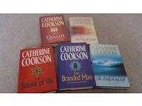 5 Catherine Cookson Hardback books