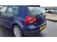 Vw golf mk5 long mot service history cheap on fuel and tax 6speed tidy alloy cd £1650