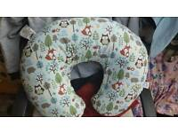 Boppy feeding pillow