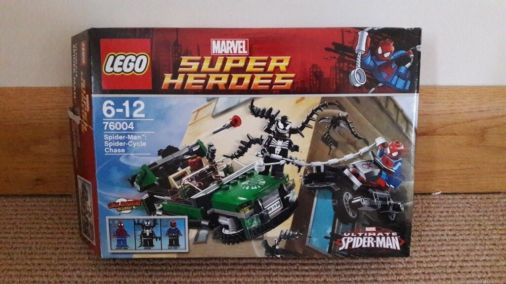 Lego 76004 Super Heros Spiderman Spider Cycle