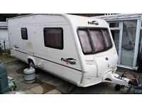 Caravan 2 Berth 2005 Bailey Pageant Series 5 Normandie - Alko HOOK UP READY FOR USE NO JOBS TO DO