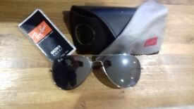 Ray Bans Aviator sunglasses