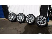 "BMW 17"" wheels and tyres"
