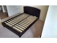 Double Leatherette Bed