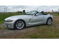 BMW Z4 , 2,5 FULL MOT, EXCELLENT CONDITION £3295 .. SCUNTHORPE