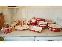 Ceramic xmas dishes