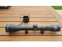 Nikko Stirling air rifle scope 4 x 40 with 11mm scope rail mounts