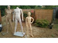 Manequins ,legs end etc.for sale