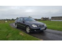 LPG Mercedes C240 Avantgarde saloon full history and leather trim Very Economical