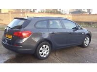 Vauxhall astra 2013 Estate full Automatic petrol 1.6, Grey,new MOT,1 owner,AC,only 37000 miles