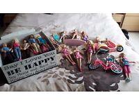 60+ barbie dolls in pristine condition