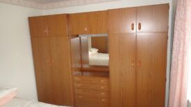 Wardrobes and dressing table combination