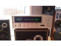 Sansui 441 Receiver Amplifier. Classic Vintage Amplifier