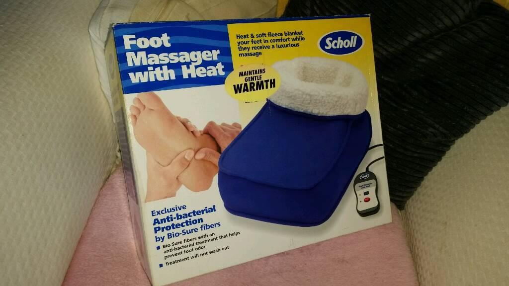 Scholl foot massager with heat