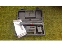 Performance power 3.6v cordless screwdriver, rechargeable screwdriver in original box.