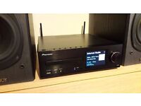 Pioneer XCHM72 network system +Tannoy speakers , CD, USB, WIFI, LAN, DLNA, AirPlay