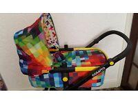 Cosatto Pixelate full travel system excellent condition beautiful design 2.5yrs cosatto guarentee