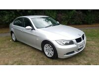 2006 55 PLATE BMW 320D SE DIESEL SALOON MOT OCT 2018 S/HISTORY 2 KEYS PART EX TO CLEAR DTIVES GOOD