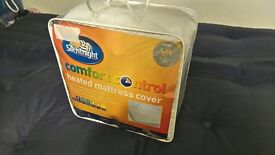 Silent Night Heated Mattress Cover- Double