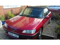 Peugeot 306 convertible 2.0i spares and repair