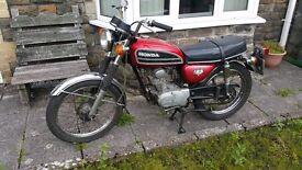 Honda CB 125S 1974