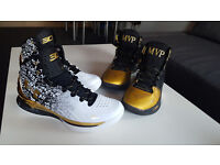 Basketball Shoes STEPH CURRY Back 2 Back MVP Pack Size UK8.5 EUR43 - 2 PAIRS