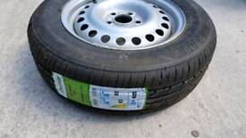 Ford transit connect new wheel/tyre