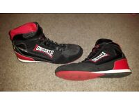 Lonsdale size 8 mens boxing boots