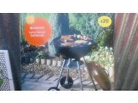 kettle charcoal barbecue never been used still sealed in original box