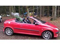 Peugeot 206cc 51 plate (2002) 2.0l sport edition
