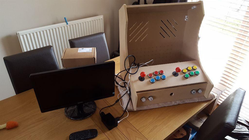 Bartop Arcade Cabinet Raspberry Pi 3 Unfinished