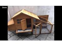 Chicken coop /rabbit/ guinea pig hutch & run