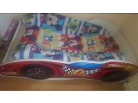 toddle car bed