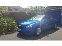 Chevrolet Cruze S 1.6 Stunning Morocco Blue 1 owner from new FSH Low Mileage
