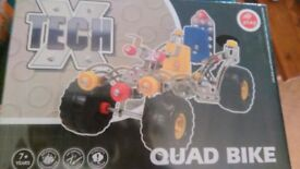 X-Tech construction kit Quad Bike brand new in box Just like meccano